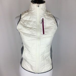 SMARTWOOL PhD Cream/Gray Quilted Vest